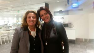 Con Laura Gambacorta